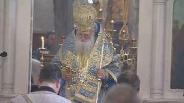 Патриарх Неофит отслужи Света литургия за Благовещение