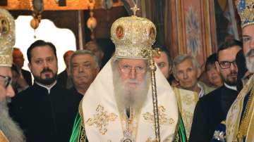 Патриарх Неофит благослови България и народа ни за настъпването на Новата година