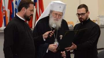 Патриарх Неофит получи Знак за особени заслуги от общинския съвет в Стара Загора