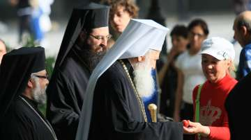 Патриарх Неофит оглави вечерната служба на Разпети петък