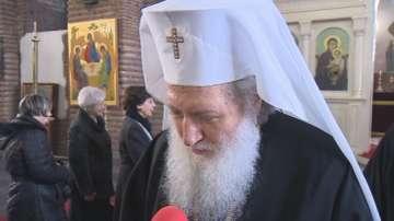 Патриарх Неофит осъди насилието и се помоли за мир
