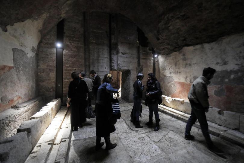 снимка 3 Рим отваря врата към подземния свят на разрушения дворец на Нерон