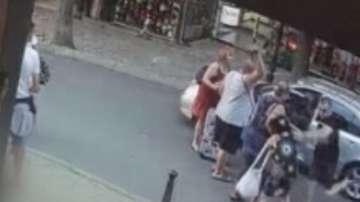 Съдът наложи домашен арест на мъжа, нападнал незрящи туристи в Несебър