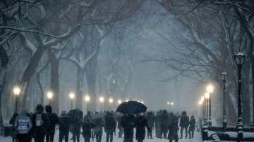 Снегът блокира части от Съединените щати