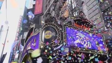 Тестваха новогодишните конфети в Ню Йорк
