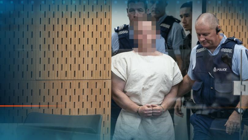 Терористът, който уби 49 души в Крайстчърч се яви пред
