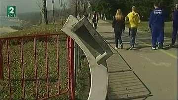 Ремонтират Алеята на спортната слава във Варна