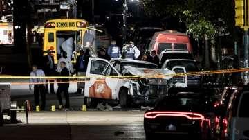Повдигнаха обвинения в тероризъм на узбекистанеца, който уби 8 души в Ню Йорк