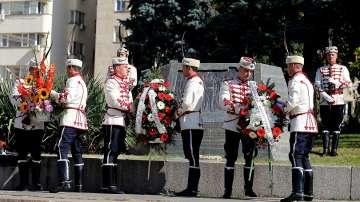 Денят на независимостта беше отбелязан с тържествена церемония в София