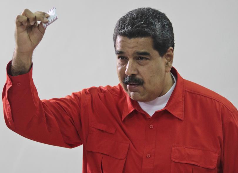 Николас Мадуро, президент на Венецуела