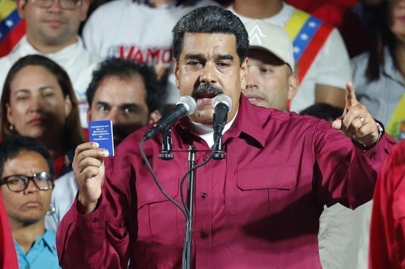 снимка 1 Николас Мадуро е победител на президентските избори във Венецуела
