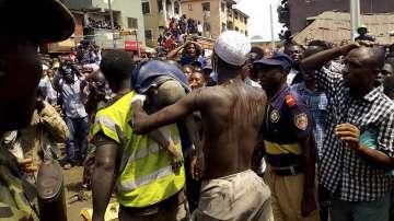 Най-малко 8 деца загинаха при рухване на сграда в Нигерия