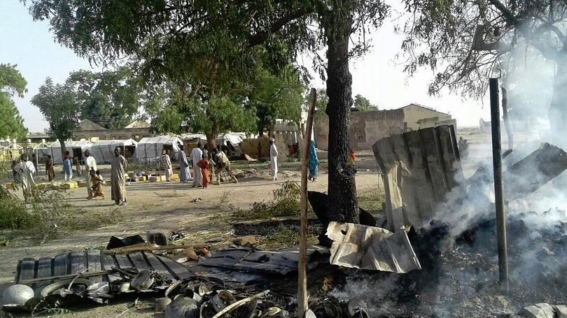 военна грешка отне живота души нигерия