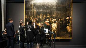 Реставрират шедьовъра на Рембранд Нощна стража