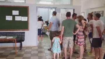 Българи гласуваха и в Никити