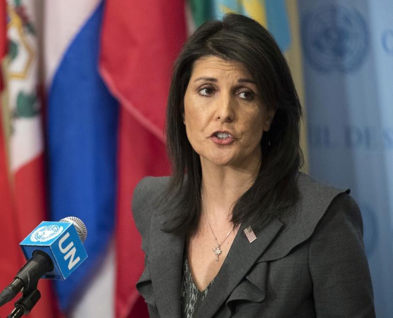 Ники Хейли, постоянен представител на САЩ в ООН