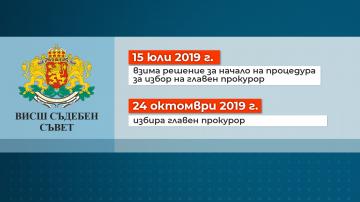 ВСС откри процедура за избор на нов главен прокурор