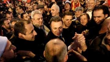 От нашия пратеник: Малка разлика между двете водещи партии в Македония