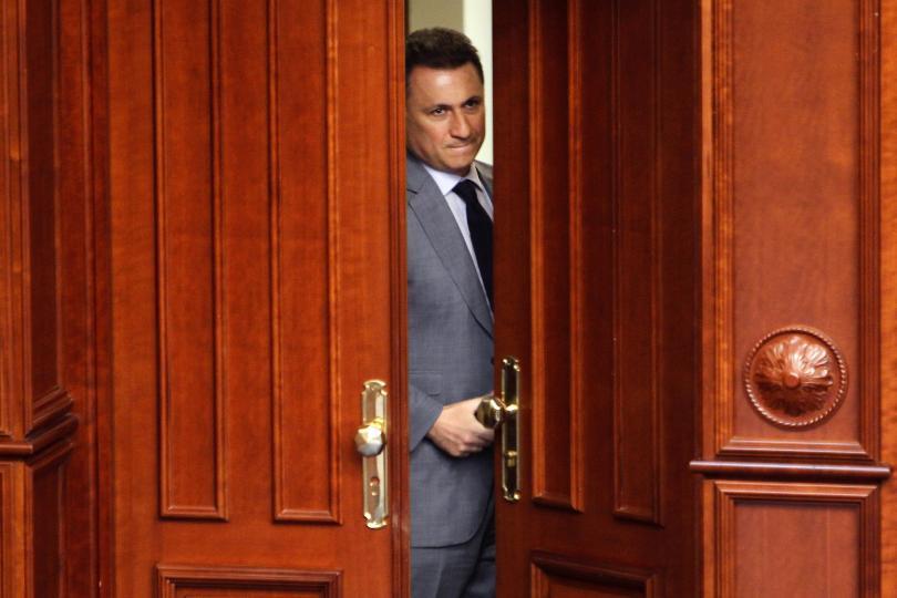 бягството груевски включено доклад македония