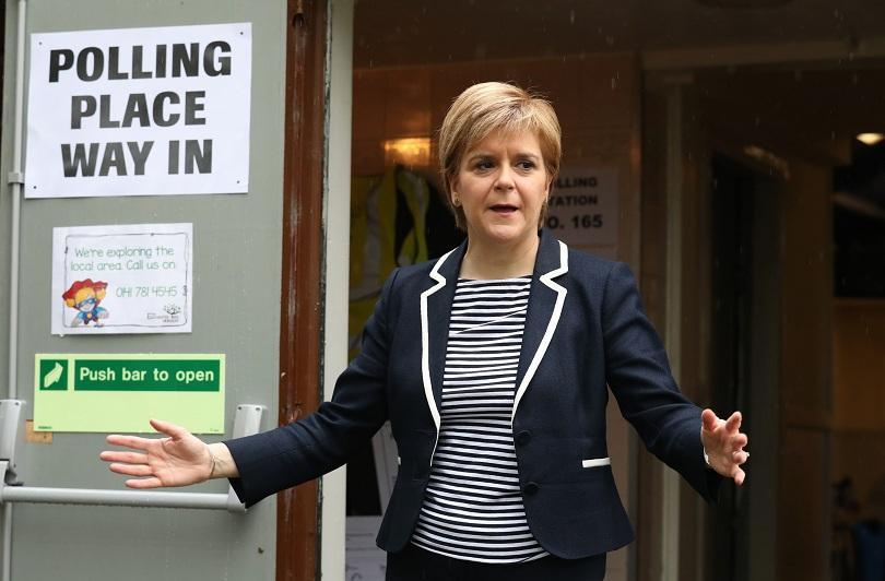 резултатите изборите разочароващи шотландската национална партия