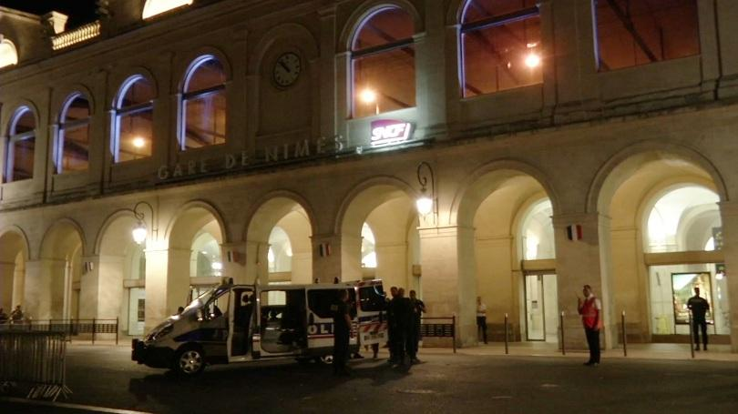 снимка 1 Полицейска операция във френския град Ним
