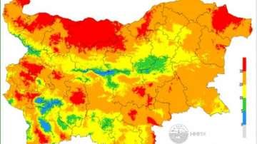 НИМХ: Опасност от пожари има в 21 области в страната