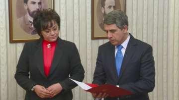 БСП върна мандата на президента Плевнелиев