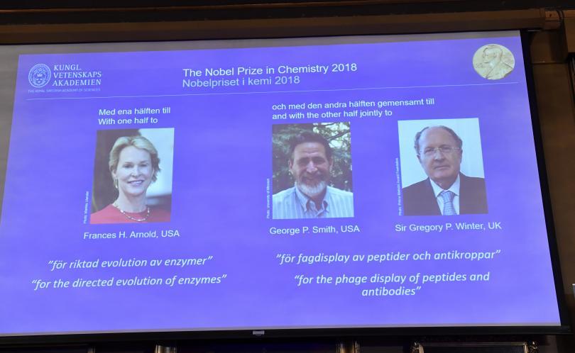Двама американци и британец получиха Нобеловата награда за химия за