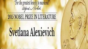 Беларуска писателка взе Нобеловата награда за литература