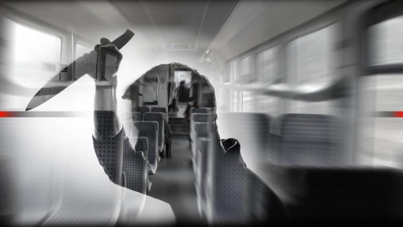 мъж нападна пътник нож влака софия бургас