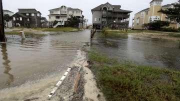 По крайбрежието на Северна Каролина се усеща приближаването на урагана Флорънс