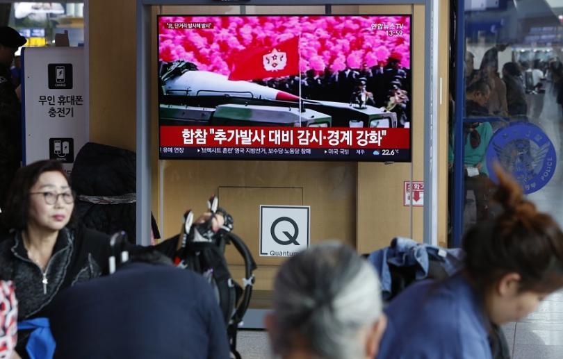 Северна Корея е извършила изпитания на ракети с малък радиус