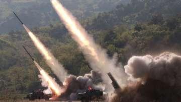 Северна Корея е осъществила военно учение за нанасяне на далечен удар