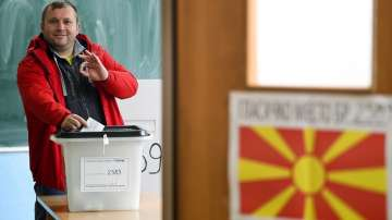 Към 15 ч. избирателната активност в Северна Македония е 30,34%