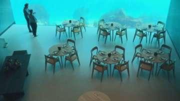 Първият подводен ресторант в Европа отвори в Норвегия