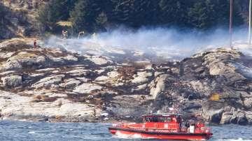 Жертви и безследно изчезнали при катастрофата на хеликоптер в Норвегия
