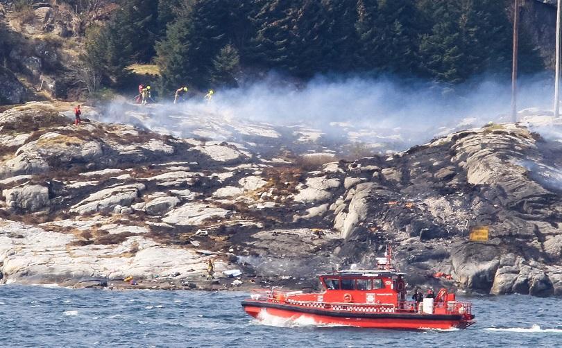 жертви безследно изчезнали катастрофата хеликоптер норвегия