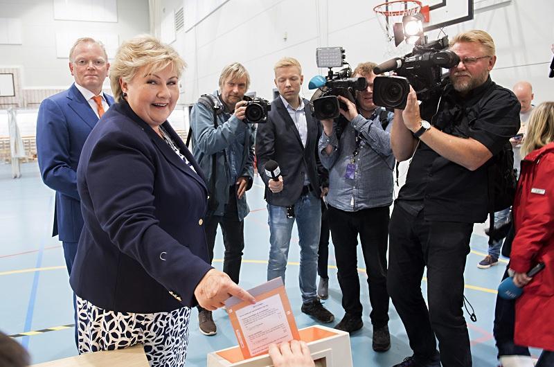 норвегия сформираха ново правителство месеца изборите