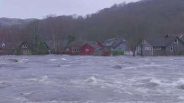Наводнения в Южна Норвегия
