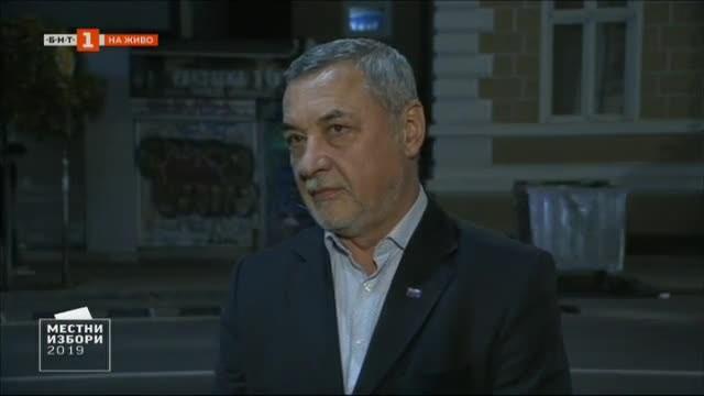 Лидерът на НФСБ Валери Симеонов заяви, че социологическото преброяване, което