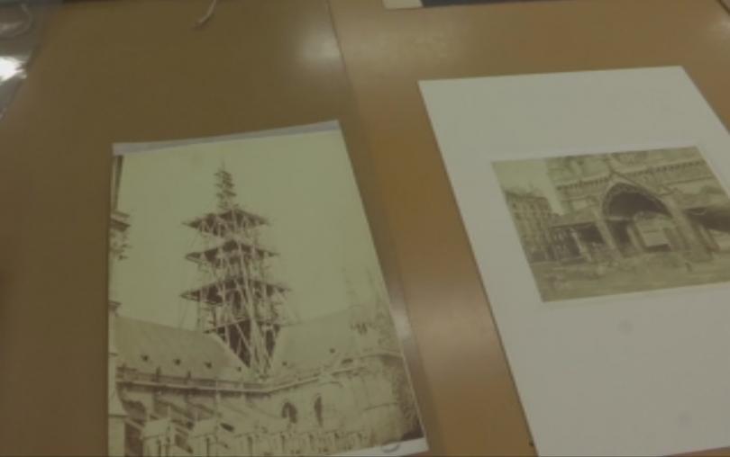 Снимка: Архиви помагат за реставрацията на Нотр Дам