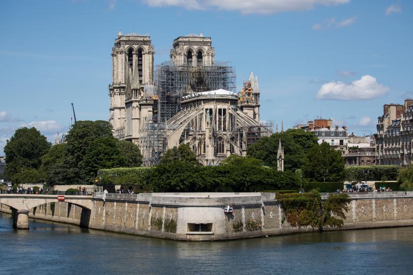 В парижката катедрала