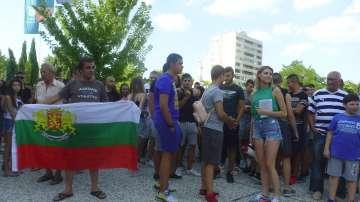 Протест срещу агресията в Нова Загора след насилие над младеж