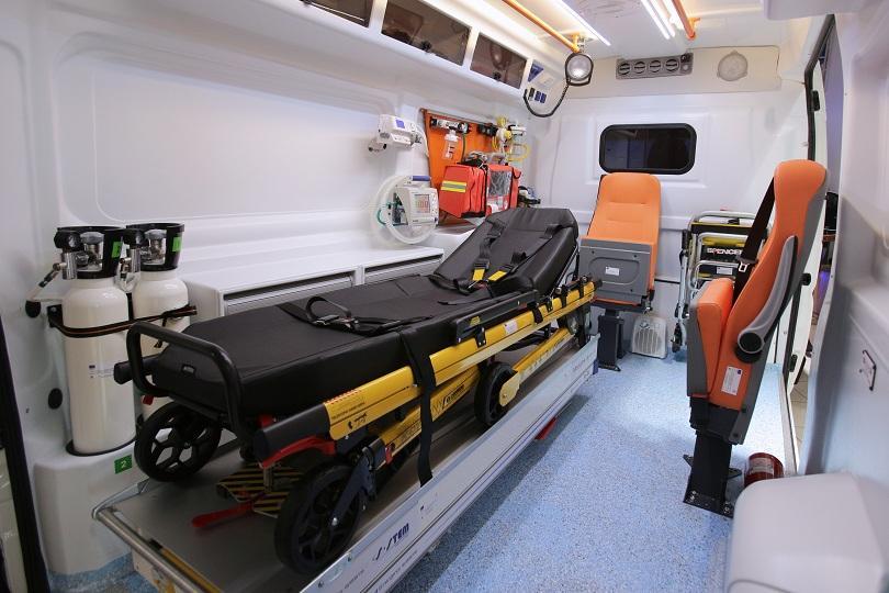 снимка 1 Столичната спешна помощ получи 2 нови линейки