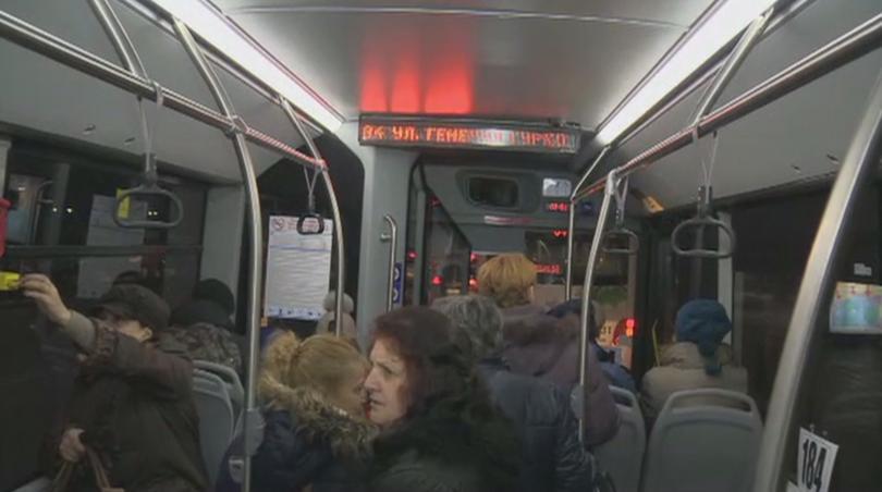 Снимка: С какви екстри разполагат новите автобуси в София