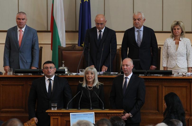 Трима нови министри влязоха във властта. След дни на задочни