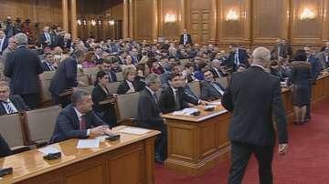 Продължава гледането на Бюджет 2020 в парламента