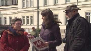 Протест пред НС за промените в Закона за културното наследство
