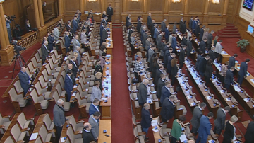 С минута мълчание депутатите почетоха паметта на Стоянка Мутафова