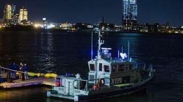 Хеликоптер се разби в Ню Йорк